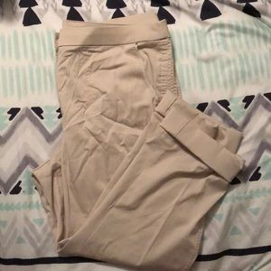 Chico's Cropped Cargo Style Pants